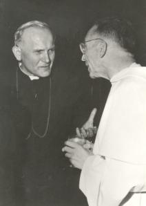 Avec le Cardinal Wojtyla, 1975