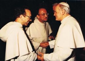 p MD Philippe, p Thomas Philippe, Jean Paul II, janvier 1984